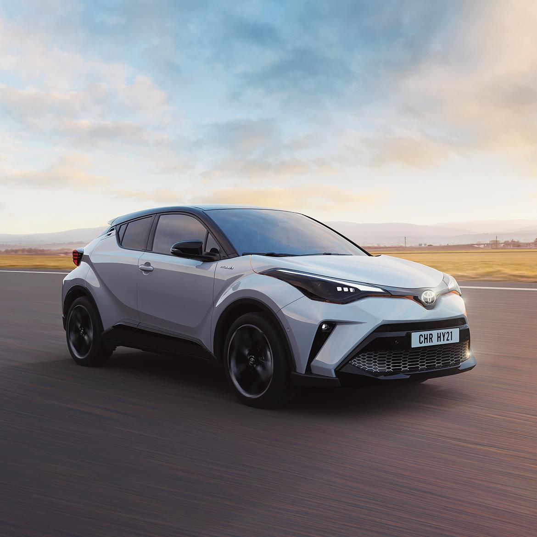 Toyota C-HR Hybrid elektrisch