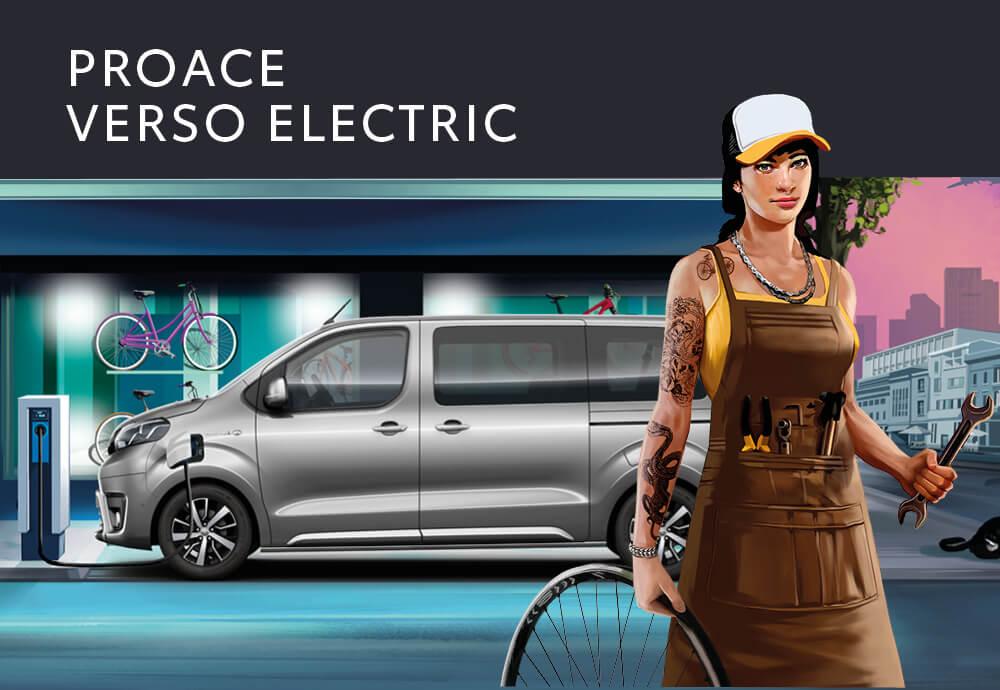 Auto Proace Verso Electric
