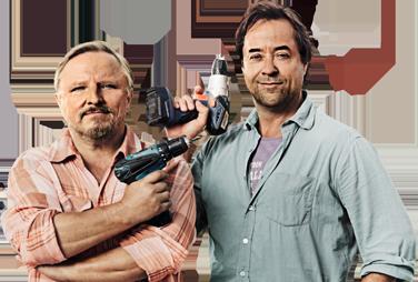 Axel Prahl und Jan-Josef Liefers